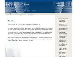 Law Offices of Joel D. Bierer (San Francisco,  CA)