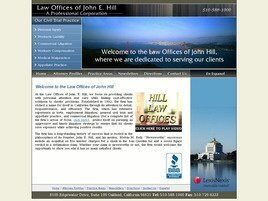 Law Offices of John E. Hill A Professional Corporation (Alameda Co.,   CA )