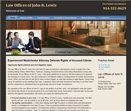 Law Offices of John R. Lewis ( White Plains,  NY )