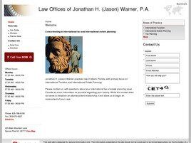 Law Offices of Jonathan H. (Jason) Warner, P.A. (Miami,  FL)