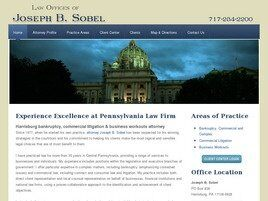 Law Offices of Joseph B. Sobel (Harrisburg,  PA)