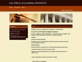 Law Offices of Lynndolyn Mitchell P.C. ( Washington,  DC )