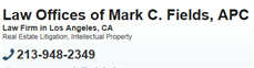 Law Offices of Mark C. Fields, APC ( Torrance,  CA )