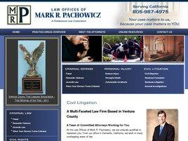 Law Offices of Mark Pachowicz A Professional Law Corporation (Brandeis,  CA)