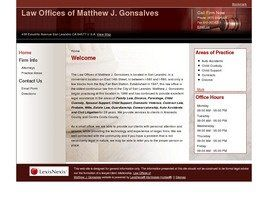 Law Offices of Matthew J. Gonsalves (Alameda Co.,   CA )