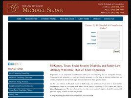 Law Offices of Michael Sloan (McKINNEY, TEXAS 75067, Texas)