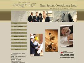 Law Offices of Mirau, Edwards, Cannon, Lewin & Tooke A Professional Corporation (Redlands,  CA)