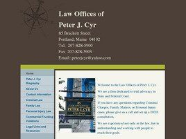 Law Offices of Peter J. Cyr (Portland,  ME)