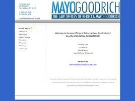 Law Offices of Rebecca Mayo Goodrich (Fairfield Co.,   CT )