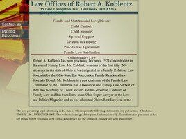 Law Offices of Robert A. Koblentz ( Columbus,  OH )