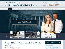 The Law Offices Of Stephen A. Markey, III, P.C. (Towson,  MD)