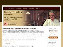 Steven C. Barkley Attorney at Law (Beaumont,  TX)