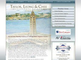Law Offices of Taylor, Leong & Chee (Honolulu, Hawaii)