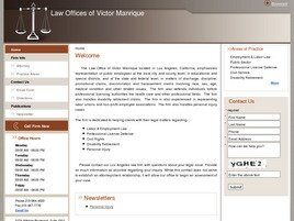 Law Offices of Victor Manrique (Los Angeles,  CA)