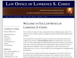 Law Office of Lawrence S. Cohen (Los Angeles,  CA)