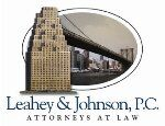 Leahey & Johnson, P.C. Attorney at Law ( New York,  NY )
