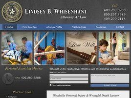 Lindsey B. Whisenhant, Attorney at Law (Beaumont,  TX)