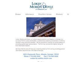 Lokey, Mobley and Doyle, LLP ( Atlanta,  GA )
