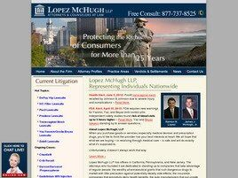 Lopez McHugh LLP(Newport Beach, California)