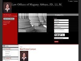 Magany Abbass Attorney and Counselor at Law (Contra Costa Co.,   CA )