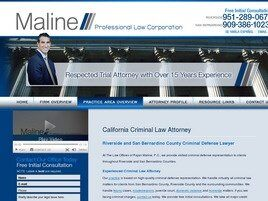 Maline Law Offices Professional Law Corporation (Riverside,  CA)
