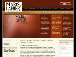 Maris & Lanier, P.C. (Dallas Co.,   TX )
