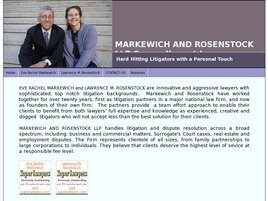 Markewich and Rosenstock LLP (New York,  NY)