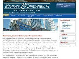 Mastriana & Christiansen, PA(Fort Lauderdale, Florida)