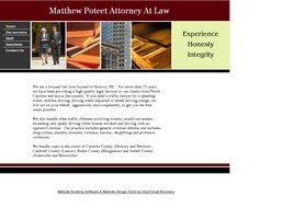 Matthew Poteet Attorney At Law(Hickory, North Carolina)