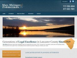 May, Metzger and Zimmerman, LLP (Lancaster,  PA)