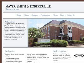 Mayer, Smith & Roberts, L.L.P. ( Shreveport,  LA )