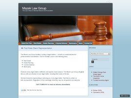 Mazek Law Group, LLC ( Chicago,  IL )