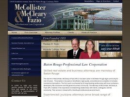 McCollister, McCleary & Fazio A Professional Law Corporation (Baton Rouge,  LA)