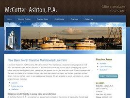 McCotter Ashton, P.A.(New Bern, North Carolina)