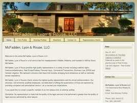 McFadden, Lyon & Rouse, L.L.C. (Mobile, Alabama)