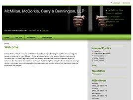 McMillan, McCorkle, Curry & Bennington, LLP (Arkadelphia, Arkansas)