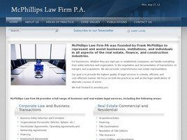 McPhillips Law Firm, P.A. ( Coral Gables,  FL )