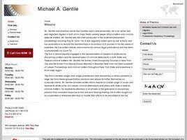 Michael A. Gentile (New York, New York)
