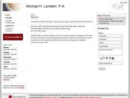 Michael H. Lambert, P.A. (Daytona Beach, Florida)