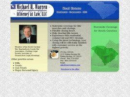 Michael H. Warren Attorney at Law, LLC (Greenville,  SC)