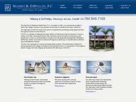 Milberg & DePhillips Professional Corporation (Cardiff-By-The-Sea,  CA)
