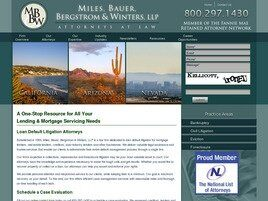 Miles, Bauer, Bergstrom & Winters, LLP(Costa Mesa, California)