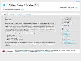 Miller, Porter & Muller, P.C. (Princeton, New Jersey)