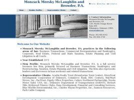 Monzack, Mersky, McLaughlin and Browder, P.A. (Wilmington,  DE)