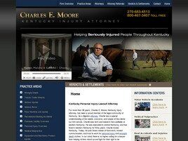 Charles E. Moore, Kentucky Injury Attorney(Owensboro, Kentucky)