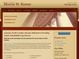 The Law Offices of Morris W. Keeter (Gastonia,  NC)