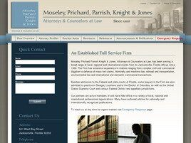 Moseley Prichard Parrish Knight & Jones (Jacksonville, Florida)