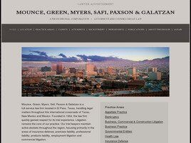 Mounce, Green, Myers, Safi, Paxson & Galatzan A Professional Corporation(El Paso, Texas)