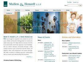 Mullen & Henzell, L.L.P.(Santa Barbara, California)