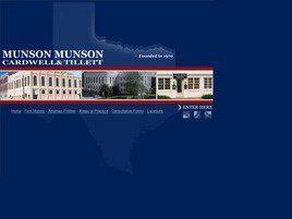 Munson, Munson, Cardwell & Tillett, P.C.(Sherman, Texas)